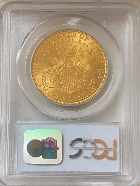 1906-D $20 63 PCGS