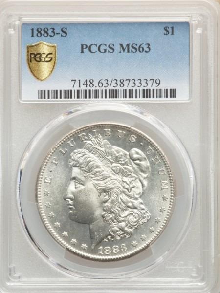 1883-S S$1 63 PCGS Secure