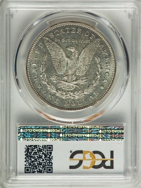 1878 7TF S$1, PL Reverse of 1878 64 PCGS