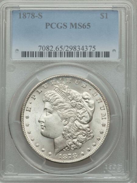 1878-S S$1 65 PCGS