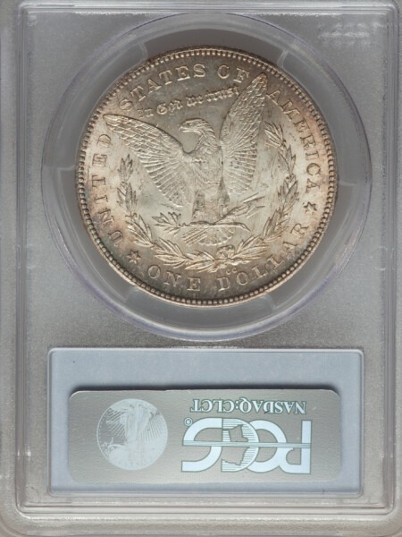 1880-CC S$1 8/7 Rev of 78 64 PCGS CAC