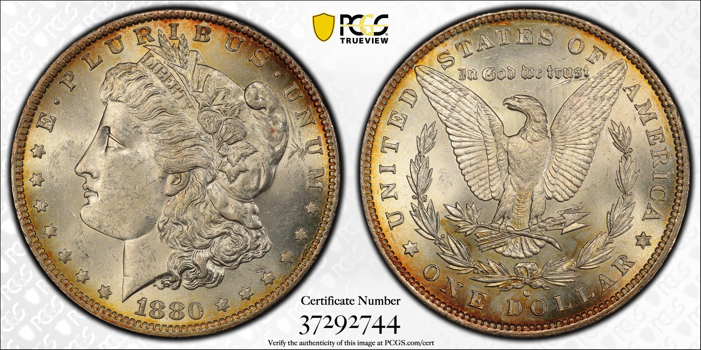 1880-O S$1 62 PCGS Secure