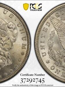 1880-O S$1 63 PCGS Secure
