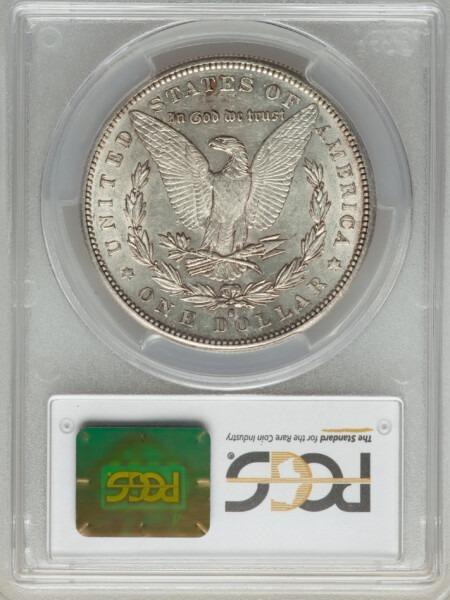 1884-S S$1 58 PCGS