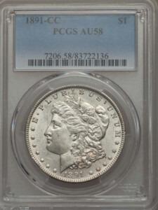 1891-CC S$1 58 PCGS