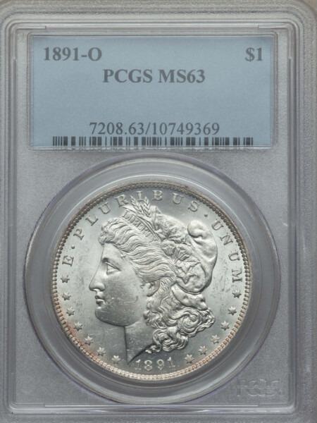 1891-O S$1 63 PCGS