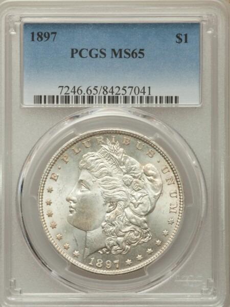 1897 S$1 65 PCGS