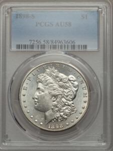 1898-S S$1 58 PCGS