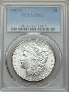 1902-S S$1 62 PCGS