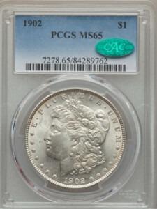 1902 S$1 65 PCGS CAC