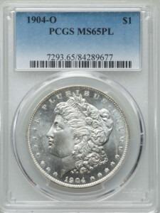 1904-O S$1, PL 65 PCGS