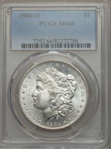 1904-O S$1 66 PCGS