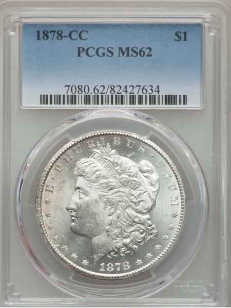 1878-CC S$1 62 PCGS