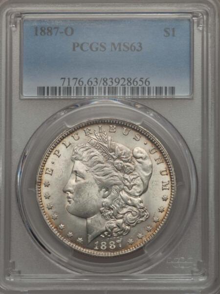 1887-O S$1 63 PCGS