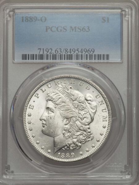 1889-O S$1 63 PCGS