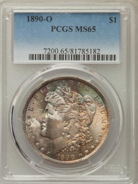 1890-O S$1 65 PCGS