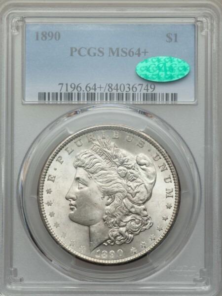 1890 S$1 64 Plus PCGS CAC
