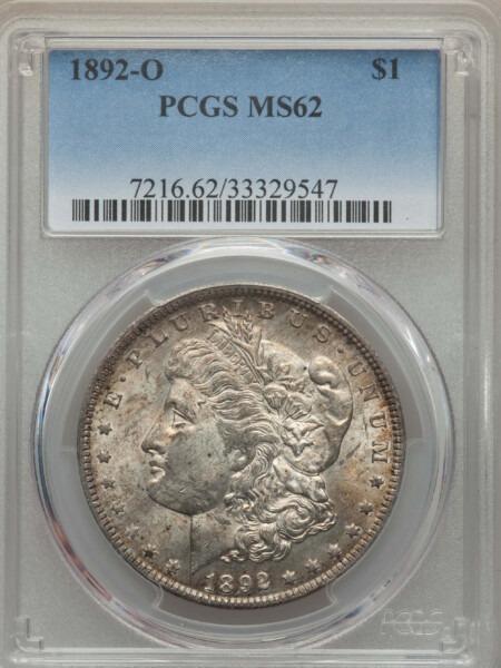 1892-O S$1 62 PCGS