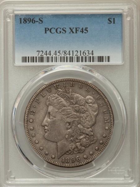 1896-S S$1 45 PCGS