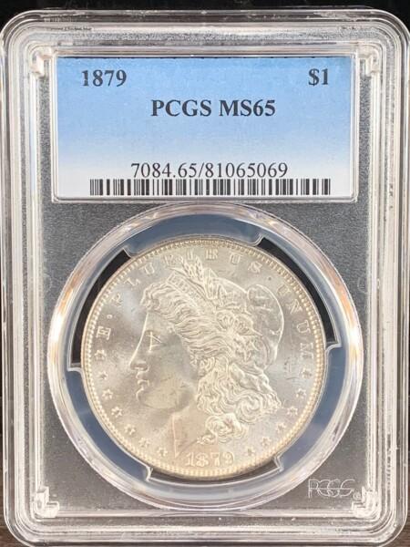 1879 S$1 65 PCGS