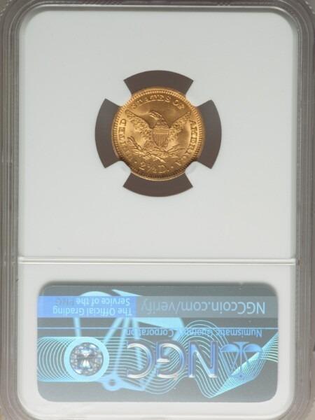 1901 $2 1/2 MS65 NGC